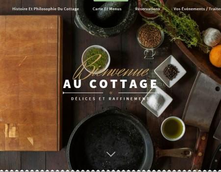 Création du site d'un restaurant